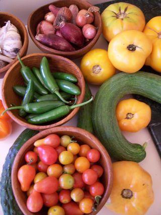 Farmer's market booty